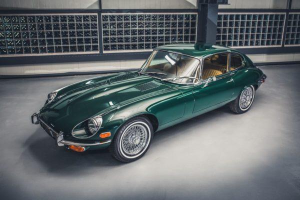 Jaguar E-Type z 1973 roku